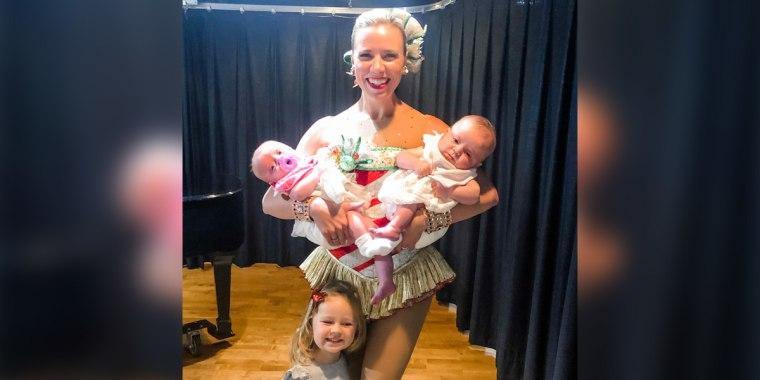"""Christmas Spectacular Starring the Radio City Rockettes"" dancer Tara Tubridy."