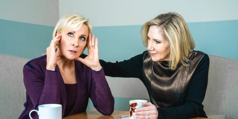 """Know Your Value founder and """"Morning Joe"""" co-host Mika Brzezinski, left, and Dr. Madelyn Fernstrom, NBC News' health editor, right."""