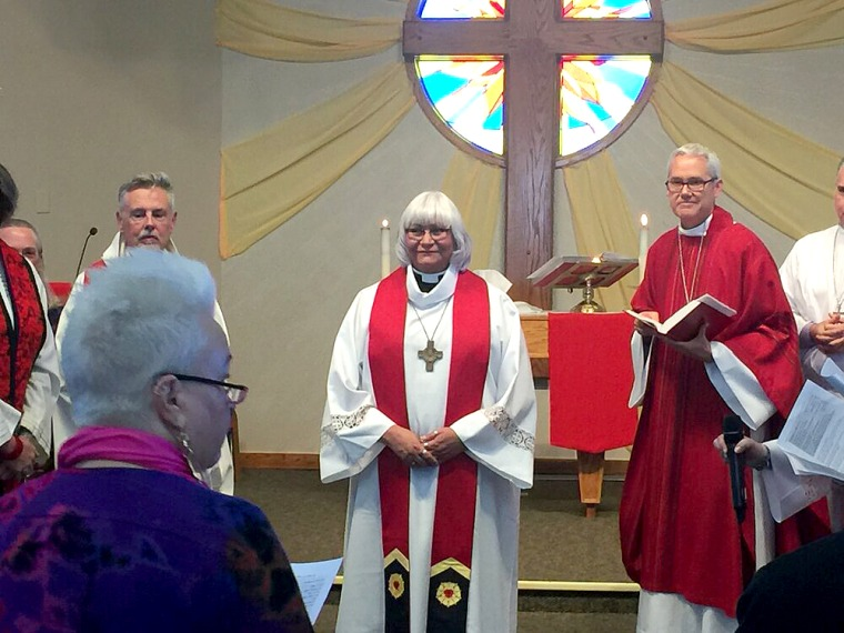 Nicole Michelle Garcia was officially ordained as Pastor Nicole Garcia on Nov. 23rd, 2019 at Christ the Servant Lutheran Church in Louisville.