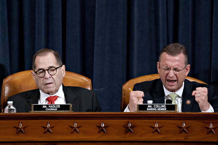 Image: House Judiciary Committee Meets For Markup On Articles Of Impeachment