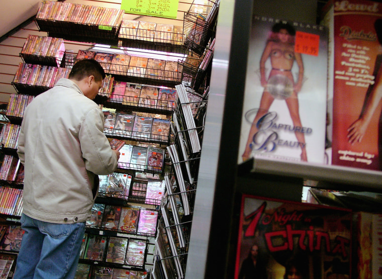 Image: Sex Shops Return To Times Square
