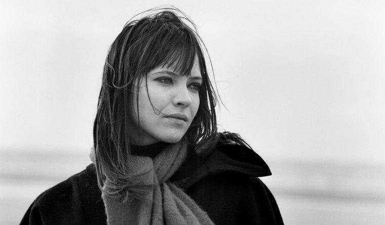 "Image: Anna Karina on the set of \""Anna,\"" ca. 1966."