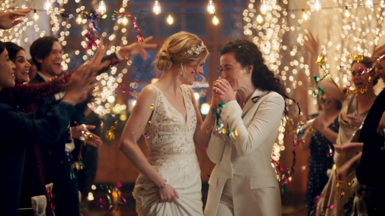 Image: Hallmark pulled a gay-themed wedding commercial from the planning website Zola.