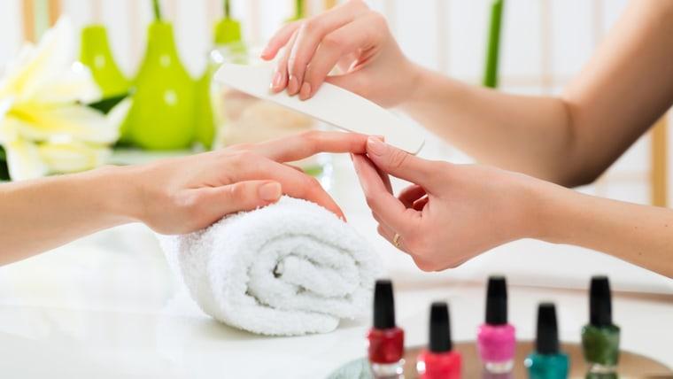 Manicure tip