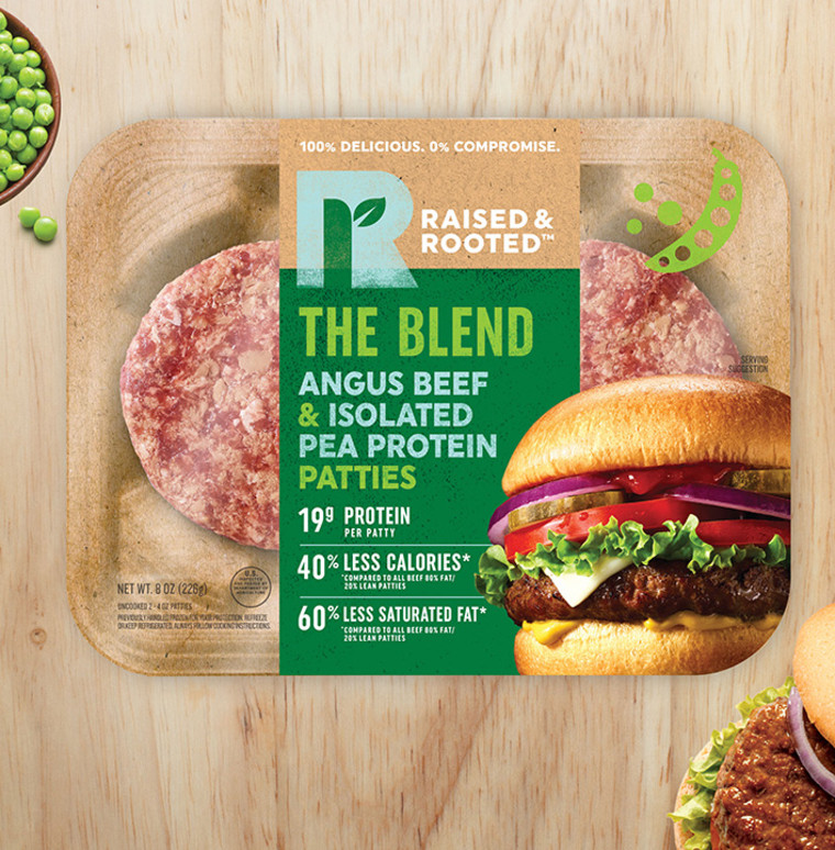 Meat and veggie blends will be popping up all over the place in 2020.