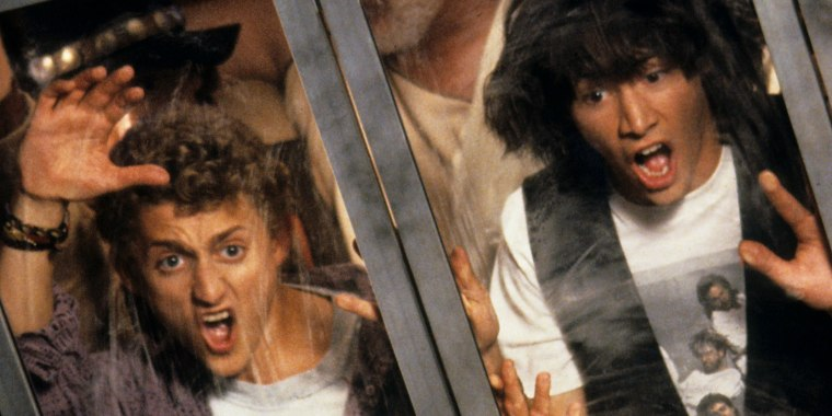 """Alex Winter and Keanu Reeves are back for a new """"Bill & Ted"""" adventure."""