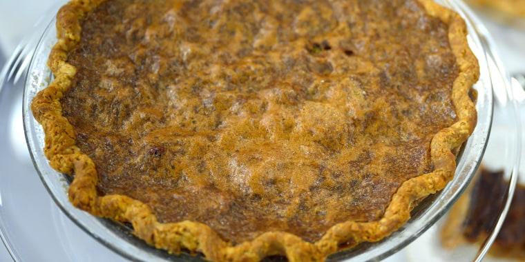 PIE OFF: Sweet Potato Pie + Maple-Pecan Pie