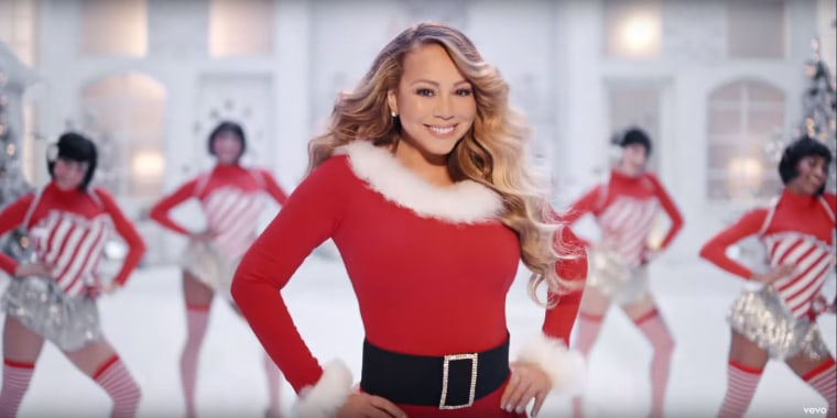 Santa came early for Mariah Carey's fans.