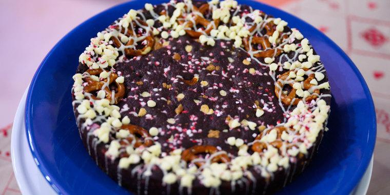 CHRISTINA TOSI: Holiday Chocolate Cookie Pie