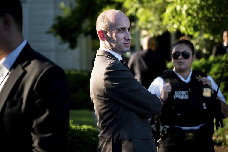 Image: White House senior adviser Stephen Miller