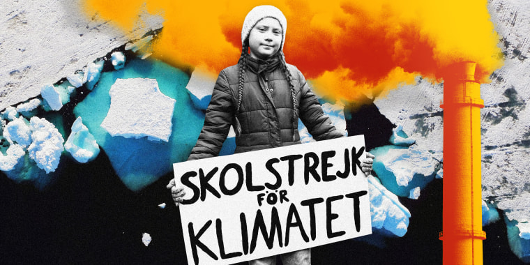 Image: The influence of 16-year-old climate activist Greta Thunberg helped launch a global movement of climate action.