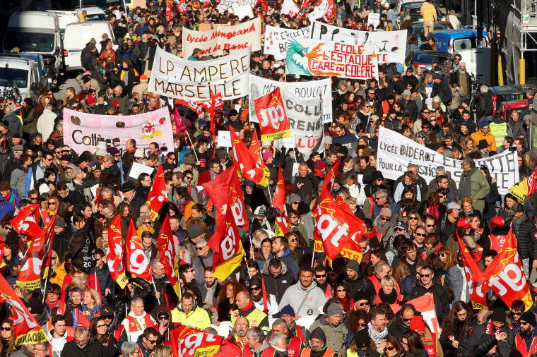 Harold Meyerson The Massive French Protests Against Macron S Pension Reforms Have Lessons For The U S