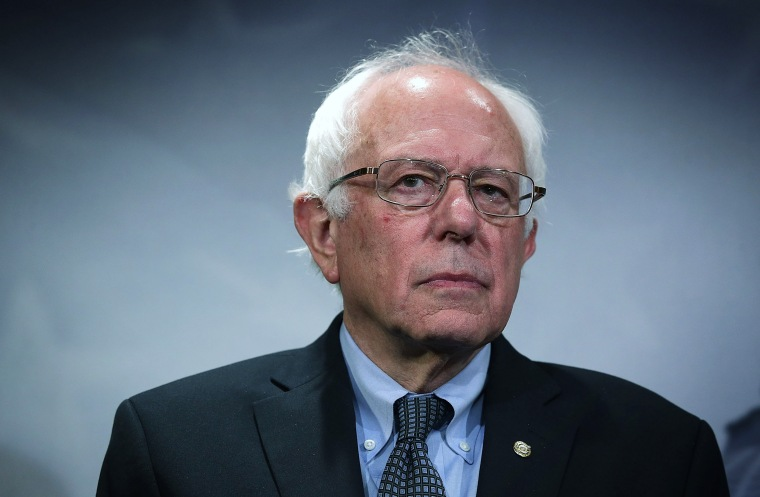 Image: Bernie Sanders Holds News Conference On Private Prisons On Captiol Hill