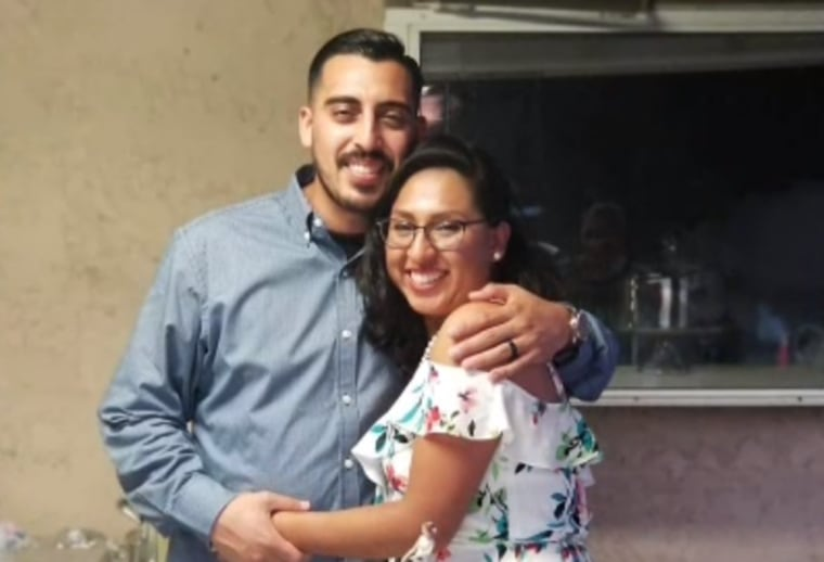 Image: A father was brutally murdered on his wedding day and his family says it happened during the reception as he tried to protect his guests.