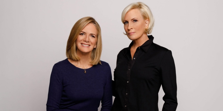 """Ginny Brzezinski, left, and Mika Brzezinski, right, co-authors of """"Comeback Careers: Rethink, Refresh, Reinvent Your Success — At 40, 50, and Beyond."""""""