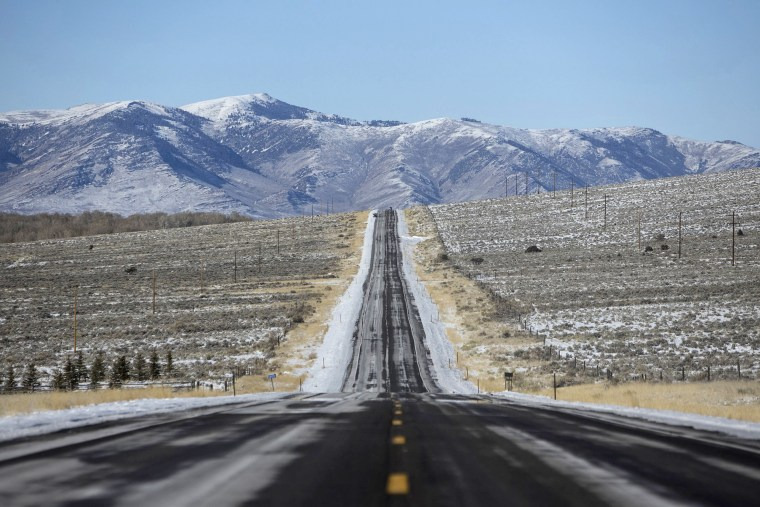 Highway 93 near Challis, Idaho.