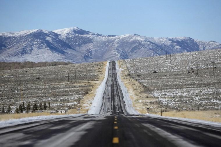 Highway 93 near Challis, Idaho.