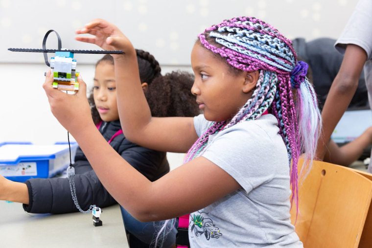 Some chapters of Black Girls Code have up to 1,000 students a year.