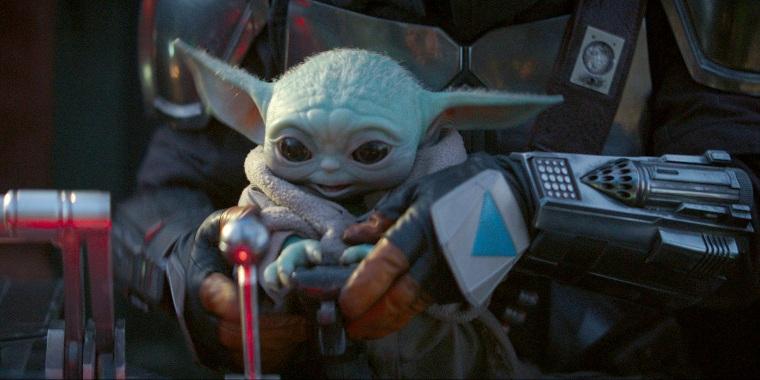 Baby Yoda wants you to watch Disney+.