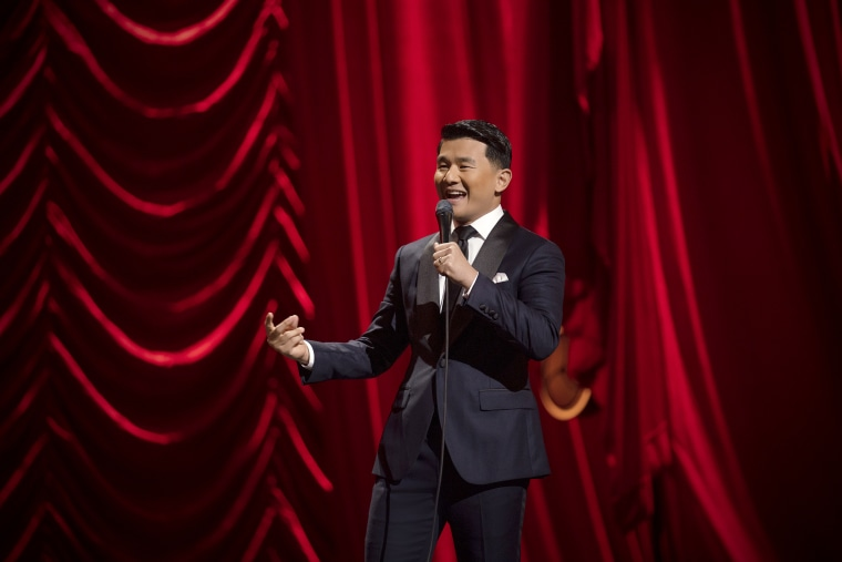 """Ronny Chieng performs during his Netflix special """"Ronny Chieng: Asian Comedian Destroys America!"""""""