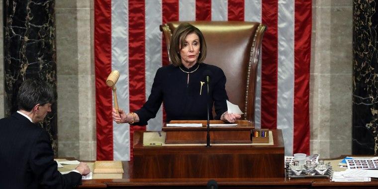 Image: U.S. House Of Representatives Votes On Impeachment Of President Donald Trump