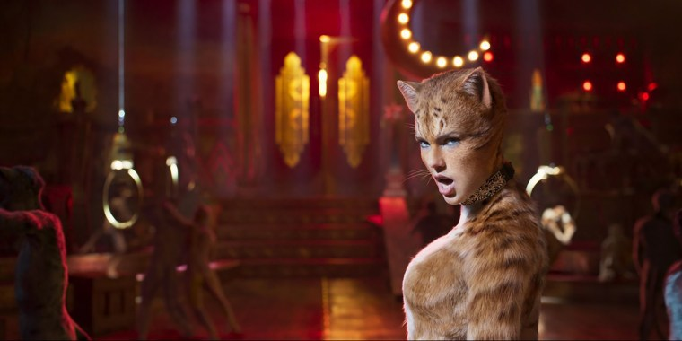 Image: Taylor Swift stars as Bombalurina in Universal Pictures' Cats (2019)