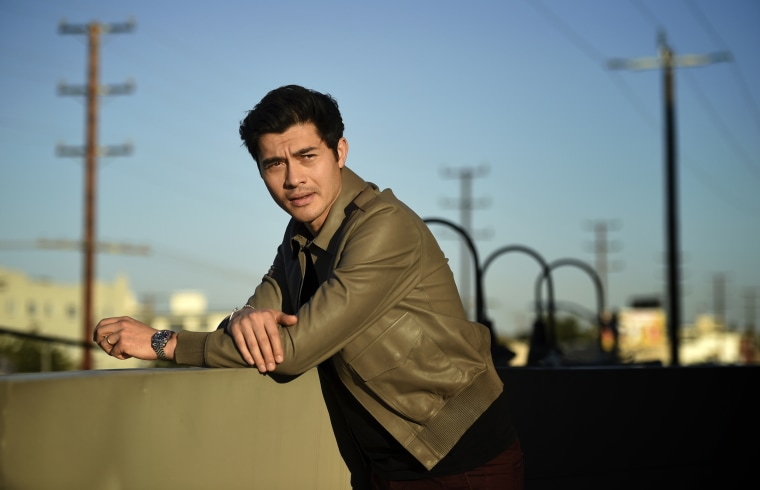 Image: Henry Golding in Los Angeles in 2018.