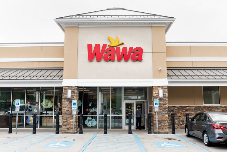 Image: Wawa store in Lawrence Township, New Jersey