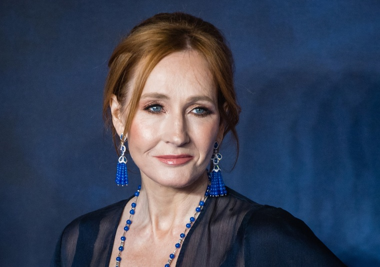 "Image: JK Rowling, ""Fantastic Beasts: The Crimes Of Grindelwald"" UK Premiere - Red Carpet Arrivals"
