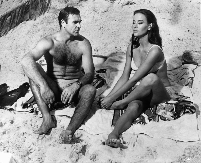 Image: Sean Connery And Claudine Auger In 'Thunderball'