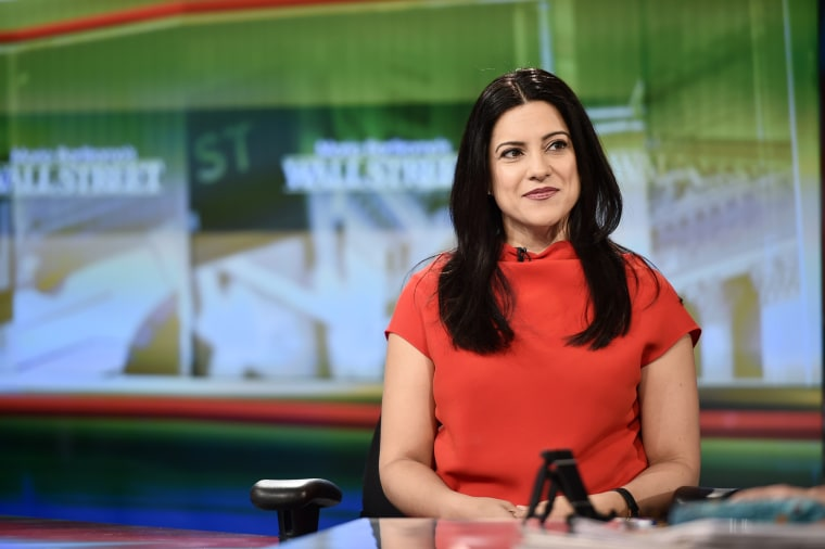 "Reshma Saujani, Girls Who Code Founder & CEO, Visits ""Maria Bartiromo's Wall Street"""
