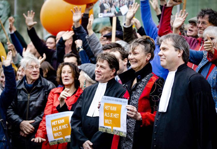 Image: NETHERLANDS-CLIMATE-POLITICS-JUSTICE