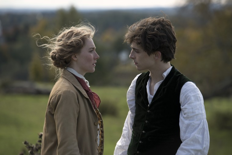 Image: Saoirse Ronan, Timothee Chalamet