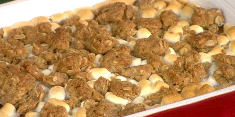 JAMIE GELLER + JOCELYN DELK-ADAMS: Classic Brisket + Brisket Latke Sliders + Sweet Potato Casserole + Sweet Potato Cheesecake Minis
