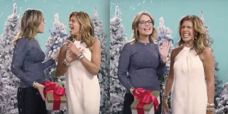 "TODAY's Hoda Kotb and Savannah Guthrie dance and sing along to ""All I Want for Christmas is You"" in honor of its 25th anniversary."