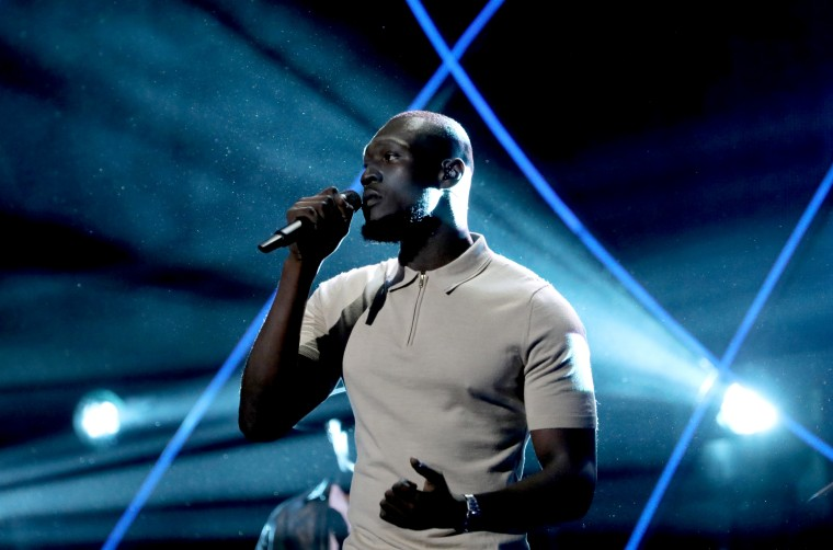 Image: Stormzy performs at the 2019 Global Citizen Prize in London on Dec. 13, 2019.