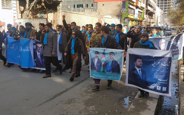 Image: Protest against the gov't in Afghanistan