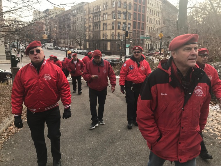 The Guardian Angels, an unarmed crime prevention group, said it would begin patrolling the New York City borough of Brooklyn on Sunday following a series of attacks against Jews.