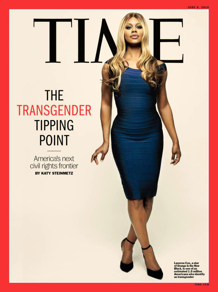 Image: Laverne Cox appears on the cover of TIME in 2014.