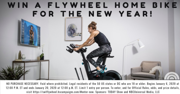 Start the new year with the chance to win a Flywheel Home Bike