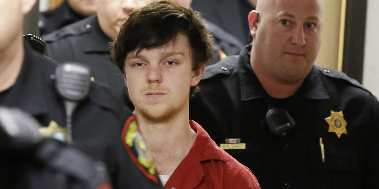 Ethan Couch was escorted by sheriff's deputies after a juvenile court hearing in Fort Worth, Texas, in February 2016.