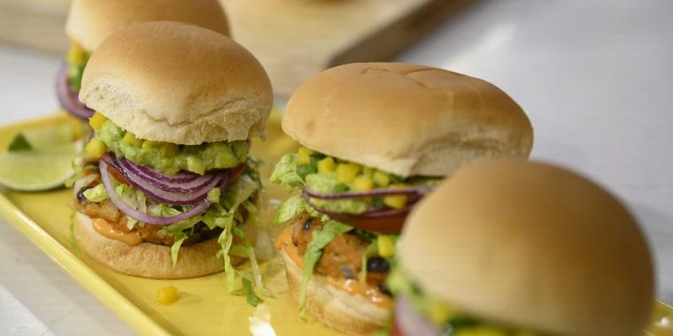 Chloe Coscarelli Guac Burgers + Parm Sliders + Holiday Nut Roast