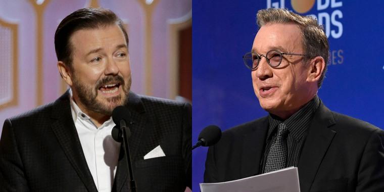 Ricky Gervais, Tim Allen