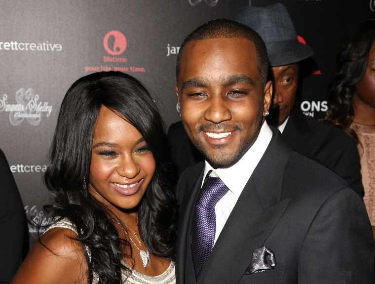 Image: Bobbi Kristina Brown. Nick Gordon