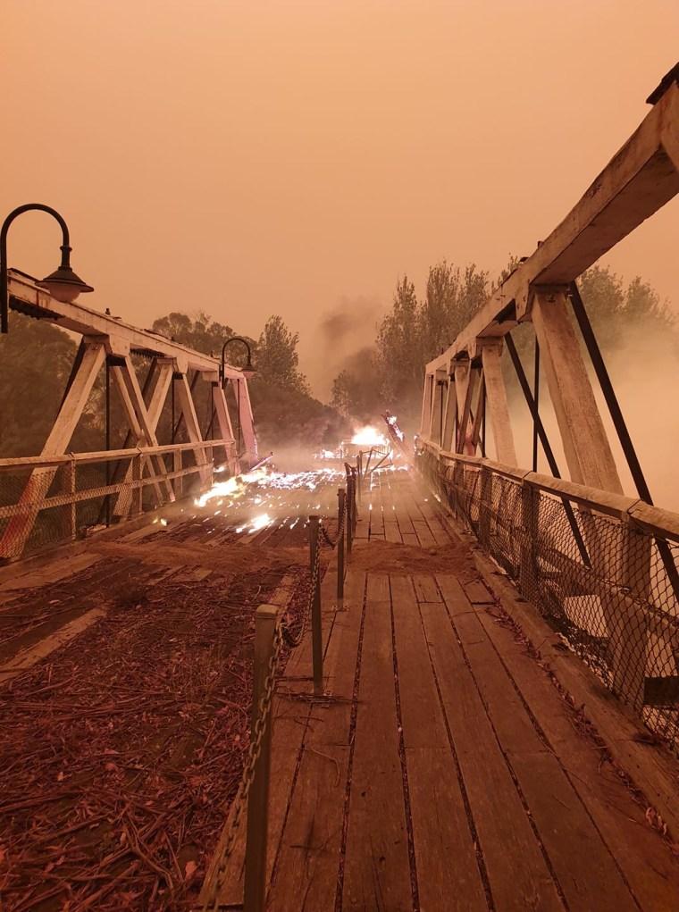 Australia Mallacoota Fire