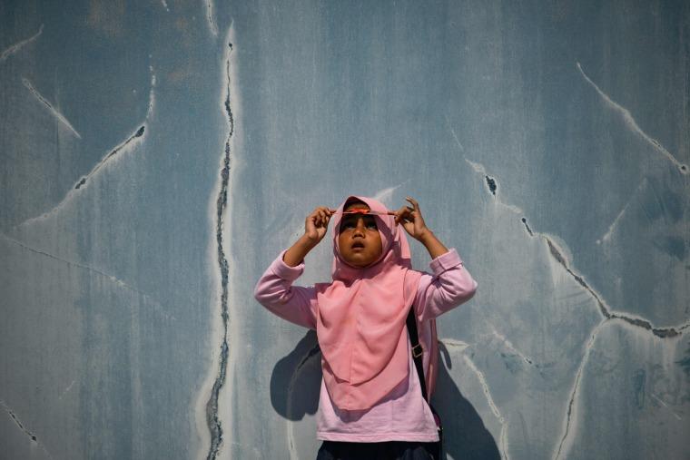 Image: INDONESIA-ASTRONOMY-SOLAR-ECLIPSE