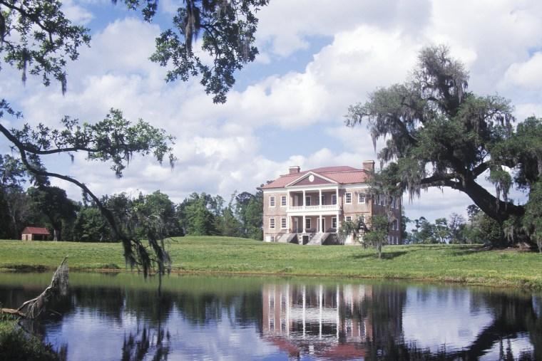 """Pre-Revolutionary War Plantation on Ashley River, Charleston, SC"""