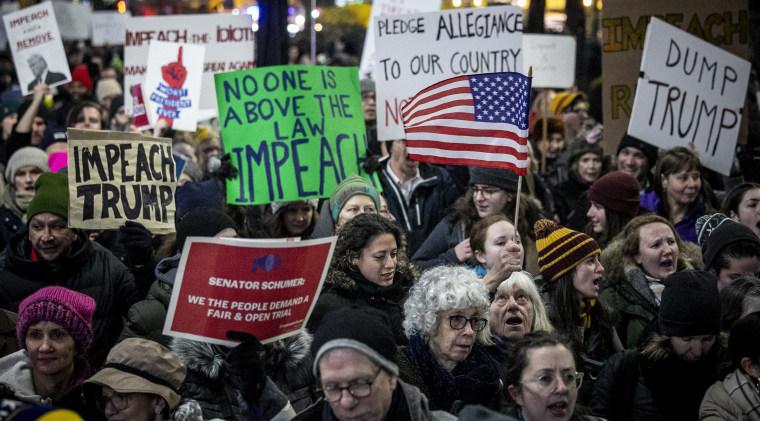 Image: Impeachment protest