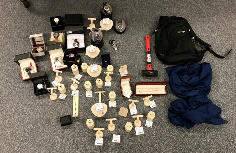 Image: Three people were arrested and charged after allegedly stealing nearly $20,000 in jewelry from an Illinois Costco.