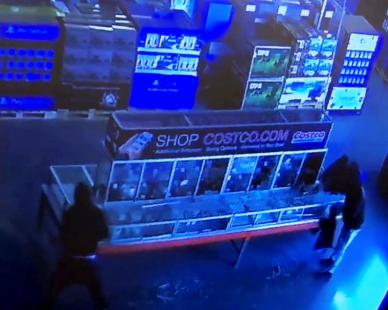 Image: Costco jewelry robbery